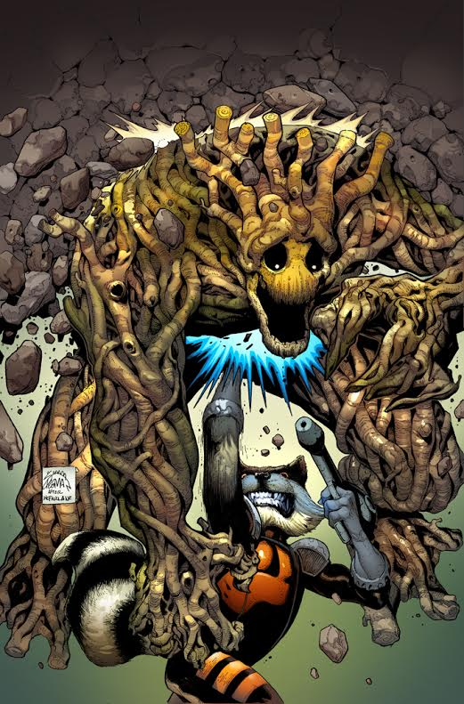 Rocket And Groot by RyanStegman