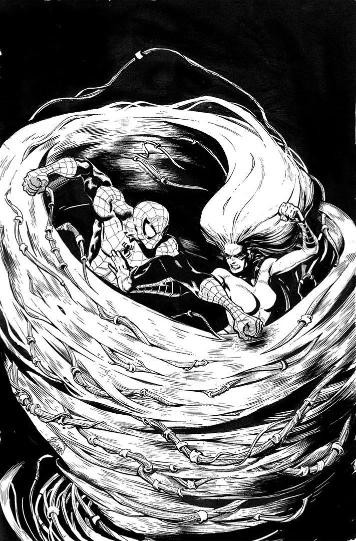 INHUMAN 10 cover by RyanStegman