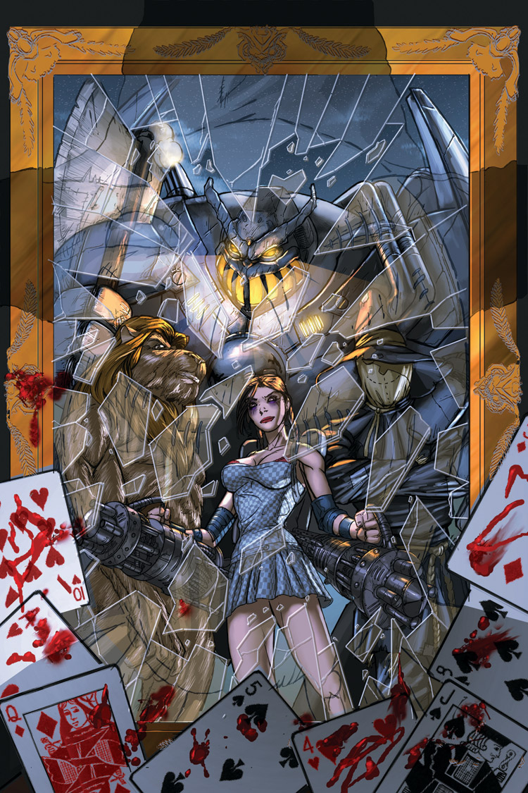 Midnight Kiss issue 2 cover