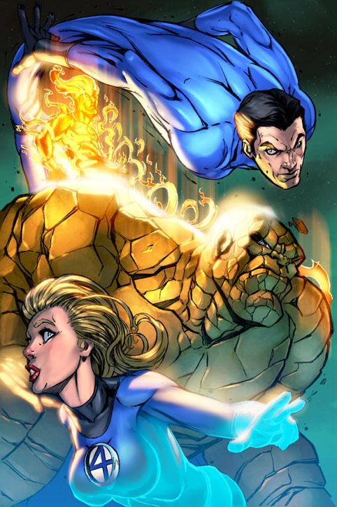 Fantastic Four COLORS by RyanStegman