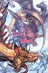 Dragons colored by RyanStegman