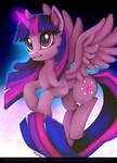 COMMISSION: Twilight Sparkle