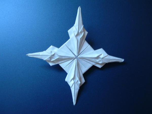 Original origami star by rfwu on DeviantArt