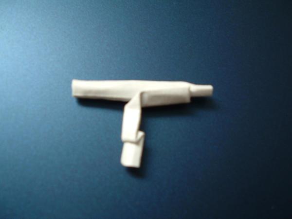 Origami Guns: Uzi by rfwu