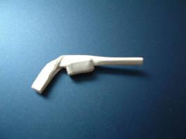 Origami Guns: SAA Revolver by rfwu