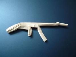 Origami Guns: AK47 by rfwu