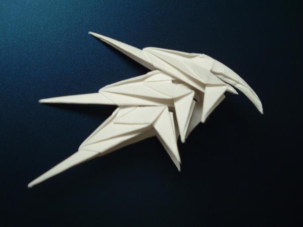 Origami Cool Helmet By Rfwu On DeviantArt