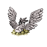 Fossilized Articuno Pokemon Sprite/Splice by Ozone-O3