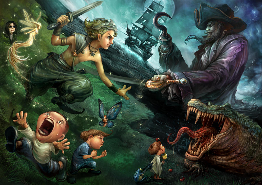 Peter pan by SARYTH