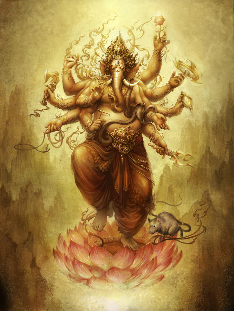 Great Wallpaper Angry Ganpati - ganesh_by_saryth  You Should Have_374578      .jpg