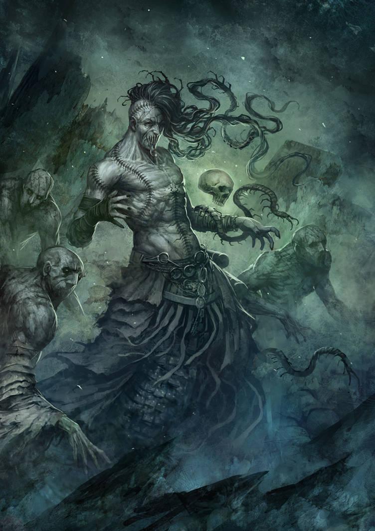 Necromancer by SARYTH