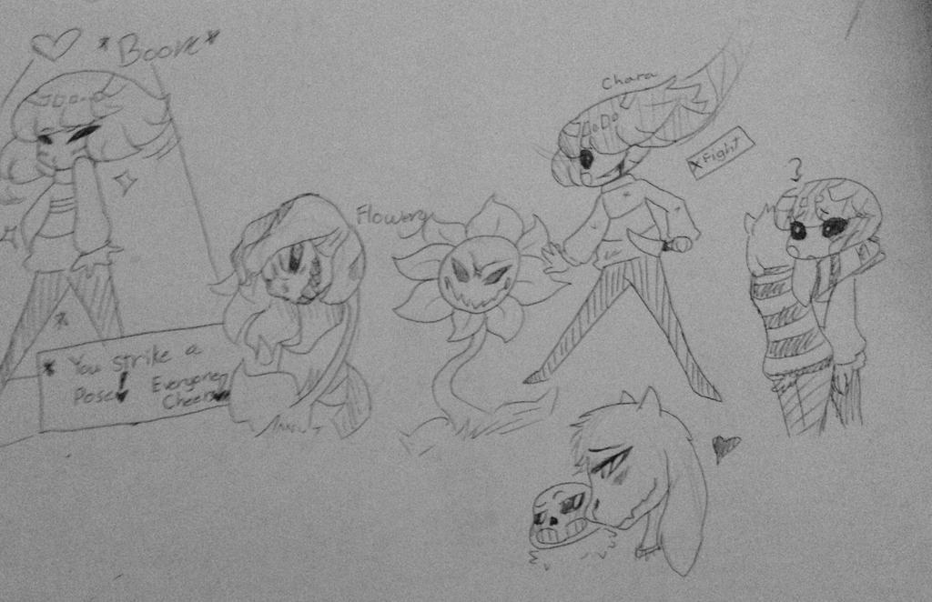 Undertale: Doodles By Scarlet-Tea On DeviantArt