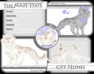 TMS | Endymon | City Feline by Scarlet-Tea