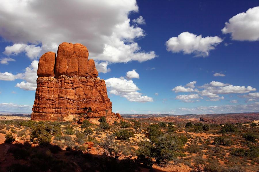 Arches NP Landscape 0045 by j0s2m21