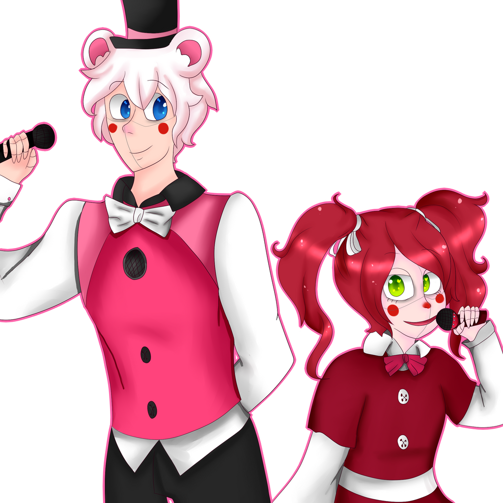 GravityPro 76 15 Sister Location Funtime Freddy And Baby By SushiHamham Kun