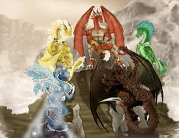 Dragon Council by Hatirem