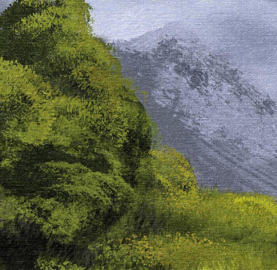 Most Realistic Photoshop Brushes - Foliage by MichaelAdamidisArt