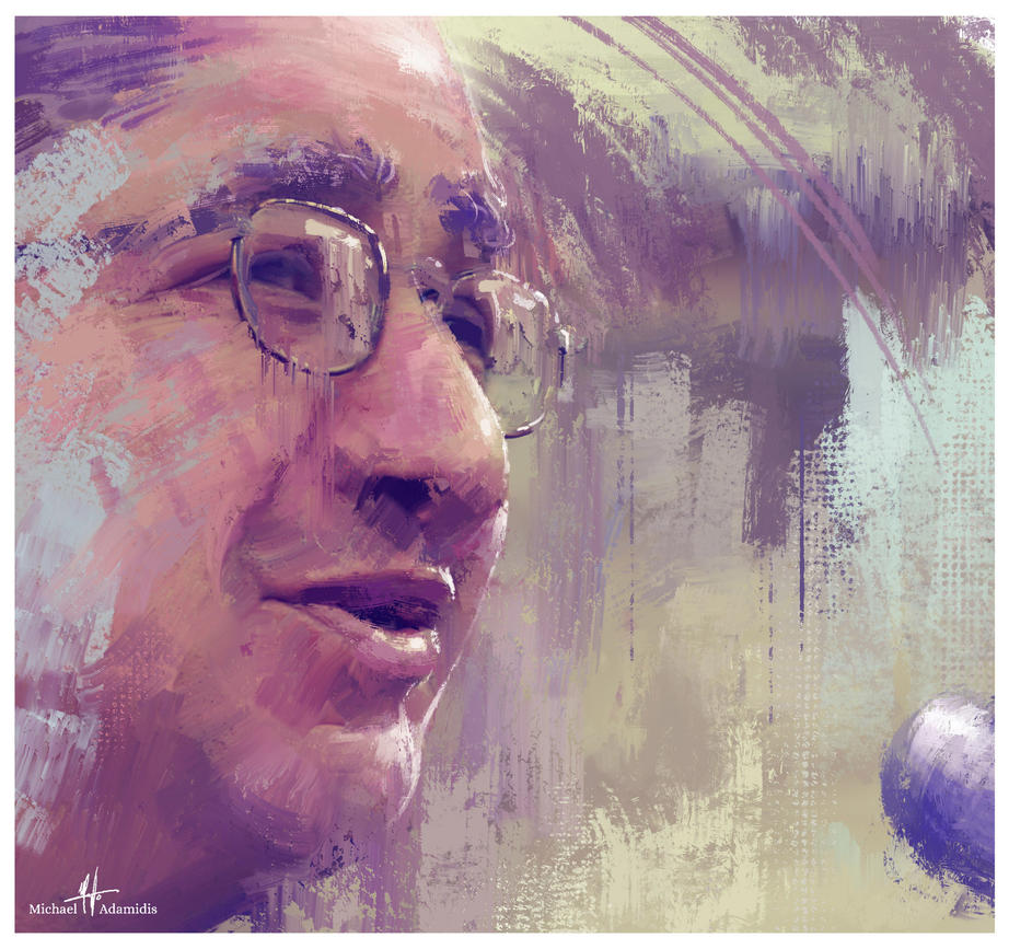 Portrait painted with Photoshop and the MA-Brushes by MichaelAdamidisArt