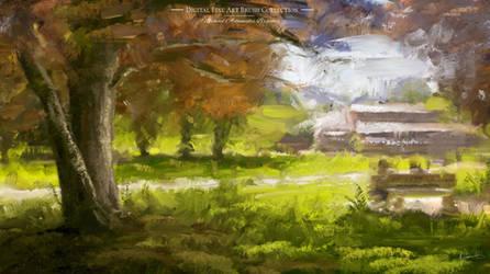 MA-Brushes Photoshop Painting Texture Oil Brushes by MichaelAdamidisArt