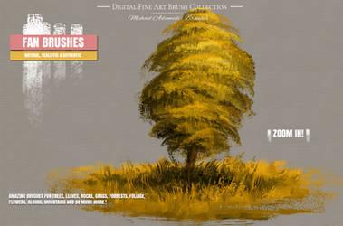 Photoshop Painting Brushes for Concept Art by MichaelAdamidisArt