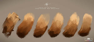 Photoshop Concept Art Brushes for digital Painting