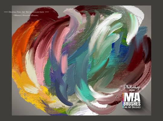 Photoshop Brushes Oil Painting - MA-BRUSHES