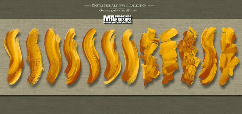 Photoshop MA-Brushes for Digital Art Painting (2)
