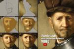 Digital Portrait Painting Art - Step by Step