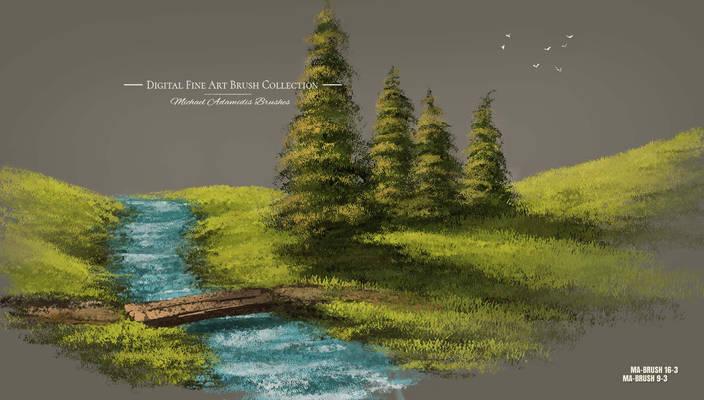 Concept Art Brushes Tree / Grass / Foliage / Leaf
