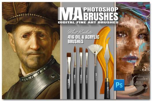 Photoshop Concept Art Painting Brushes MA-BRUSHES