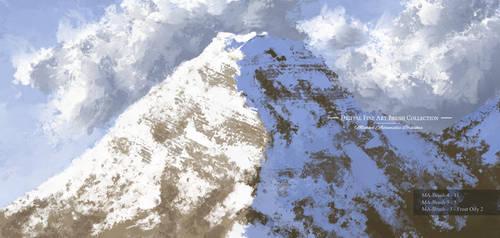 Concept Art Brushes for digital Painting Art Oil T