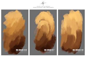 Photoshop Brushes Painting Oil Acrylic Brushes