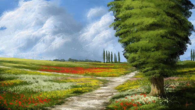 Digital Landscape Painting / Scenery ART