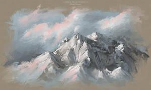 Digital OIL Painting Art Landscape / Scenery