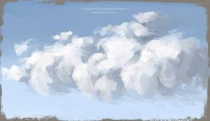 Digital Art Oil Brush Pack - Painting Clouds Sky