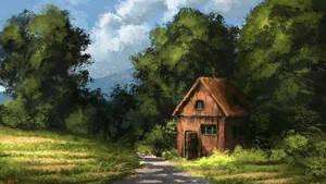 Digital Landscape Painting - Michael Adamidis