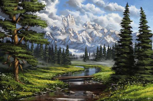 Digital Landscape Painting No2 Tutorial