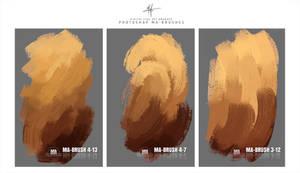 Photoshop ART Oil Brushes - Digital Painting