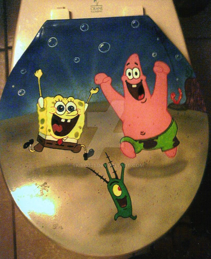 Spongebob Toilet Seat By Skibo321 On Deviantart