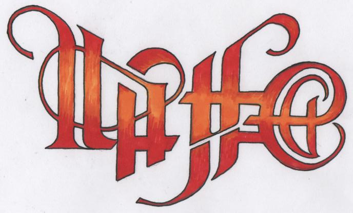 ambigram life death by skibo321 on deviantart. Black Bedroom Furniture Sets. Home Design Ideas