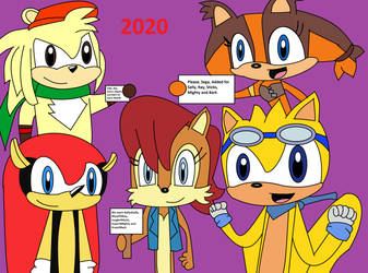 New Characters have been added 2020-2021 by DoctorStrangeSoldier