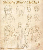 My Original Character1 by acory