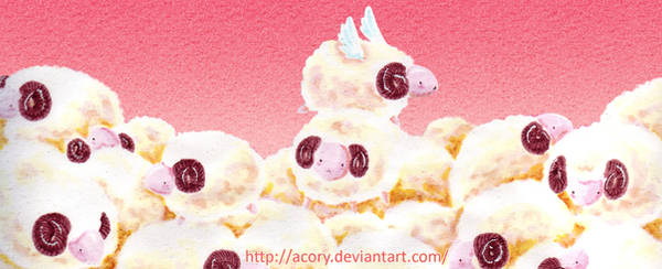 Sheeps by acory