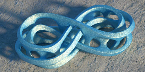Octane render of mobius infinity by davidbrinnen