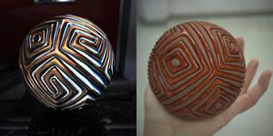 Simple ball 2 in Wings 3D 1.5.1 tut