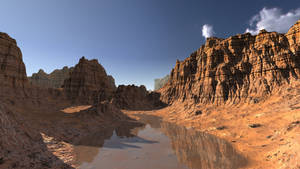 Horo's Rocky Desert by davidbrinnen
