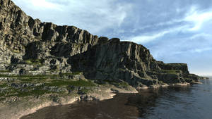 Horo's Cliff in Bryce 7.1 Pro 2 by davidbrinnen