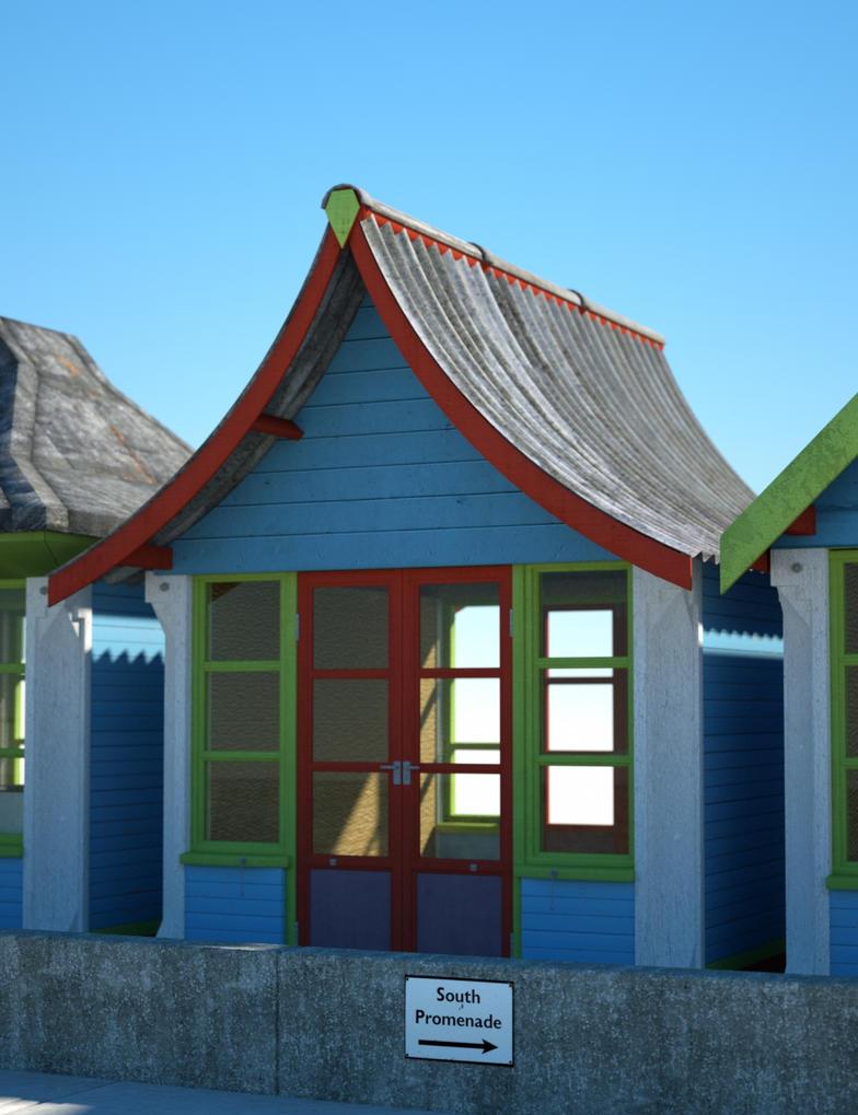 Beach hut for sale 1 by davidbrinnen on deviantart for Model beach huts