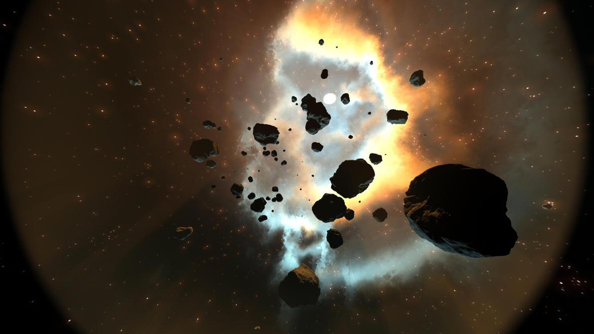 Instance asteroids in Bryce tut by davidbrinnen