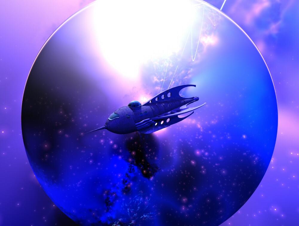 Another rocketship by davidbrinnen
